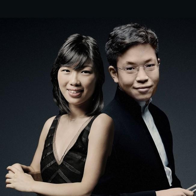 小提琴家黃俊文(Paul Huang)、鋼琴家黃海倫(Helen Huang)二重奏音樂會1月26日晚,將在新英格蘭學院喬頓廳舉行。(中華表演藝術基金會提供)