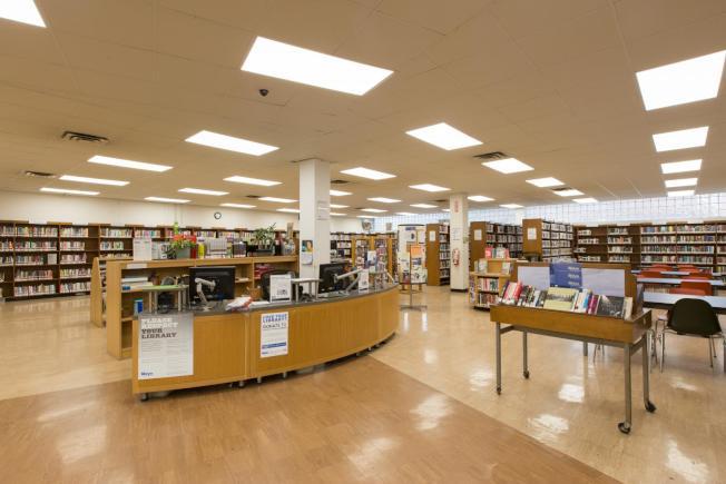 溫莎平台圖書館。(圖片取自布碌崙公共圖書館官網)