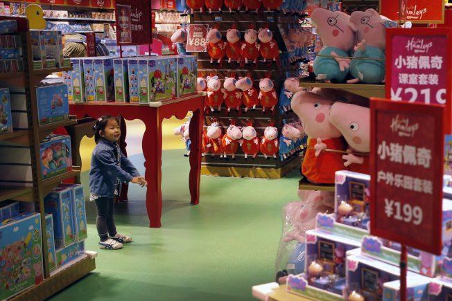 雙語新聞|重回中國市場 小豬佩奇鬧新春