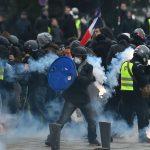 黃背心新年再抗議 巴黎重現暴力