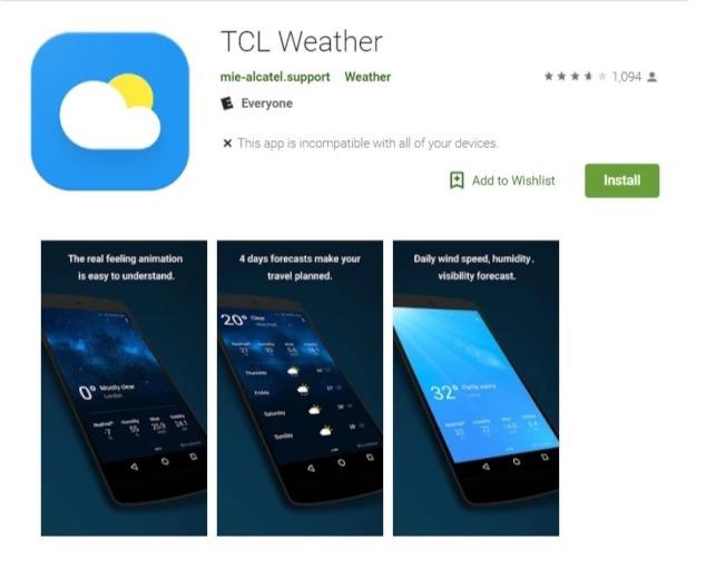 TCL的应用软件被指过度收集用户资讯。(取自谷歌)