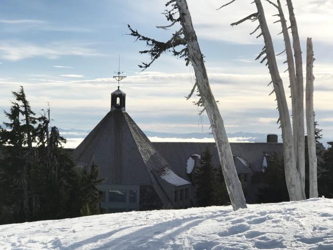 林界小屋位於胡德山上海拔1800多公尺處。