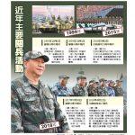 1張圖 看中國近年主要閱兵活動