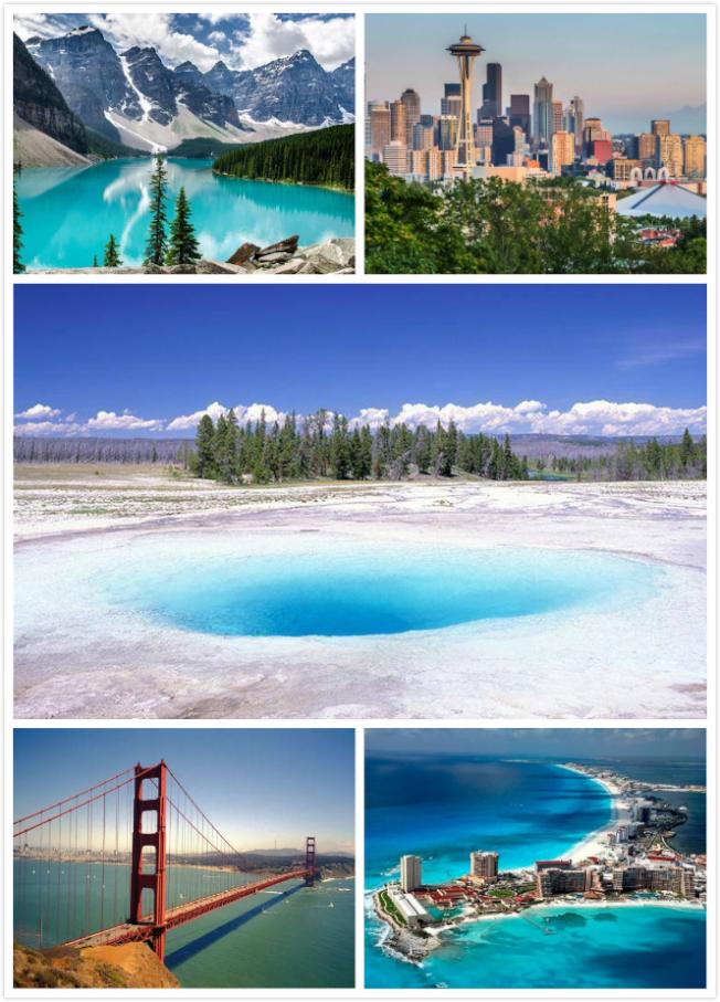 納美旅遊推出超值新年北美遊,豐富路線任選。