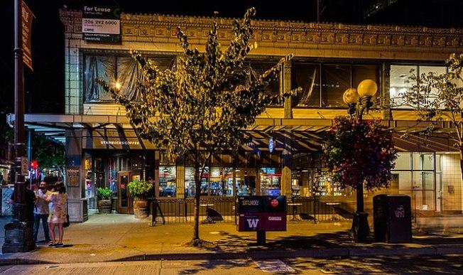 星巴克位於西雅圖的創始店面。(維基百科)