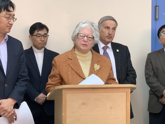 史塔文斯基表示,「夢想法案」為學生爭取權益和提升教育品質。(記者賴蕙榆/攝影)