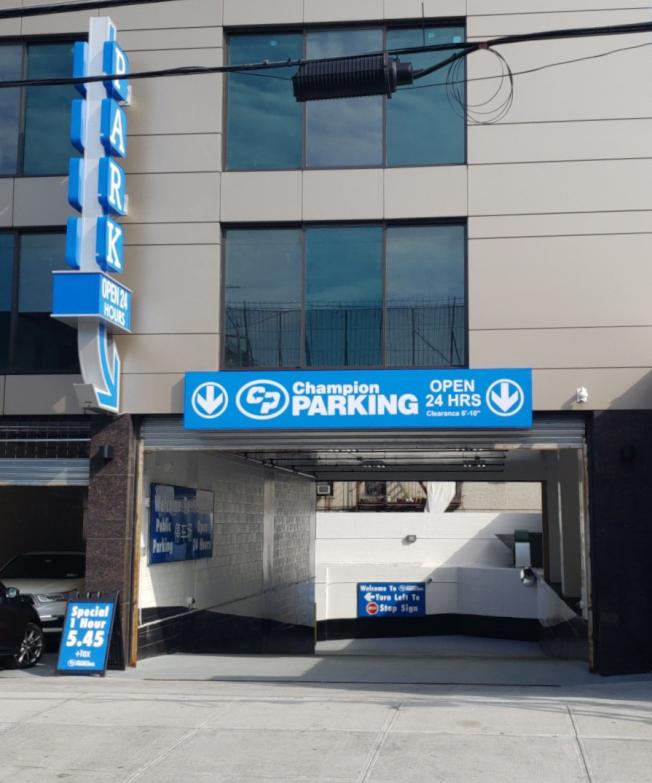 新穎、管理嚴謹的「Champion室內停車場」歡迎僑胞多多利用。