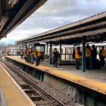 7號地鐵威利點站  男跳軌自殺