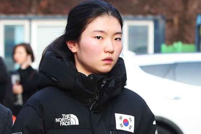 南韓奧運女子短道競速滑冰選手、奧運兩度金牌得主沈錫希,指控教練從她17歲開始性侵她。 (Getty Images)