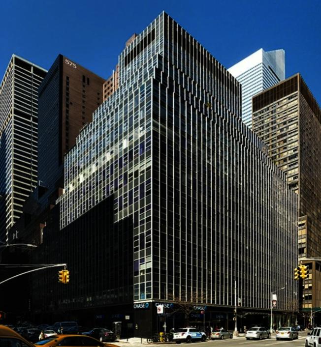 海航集团被迫出售3大道850号大楼。(取自大楼官网)