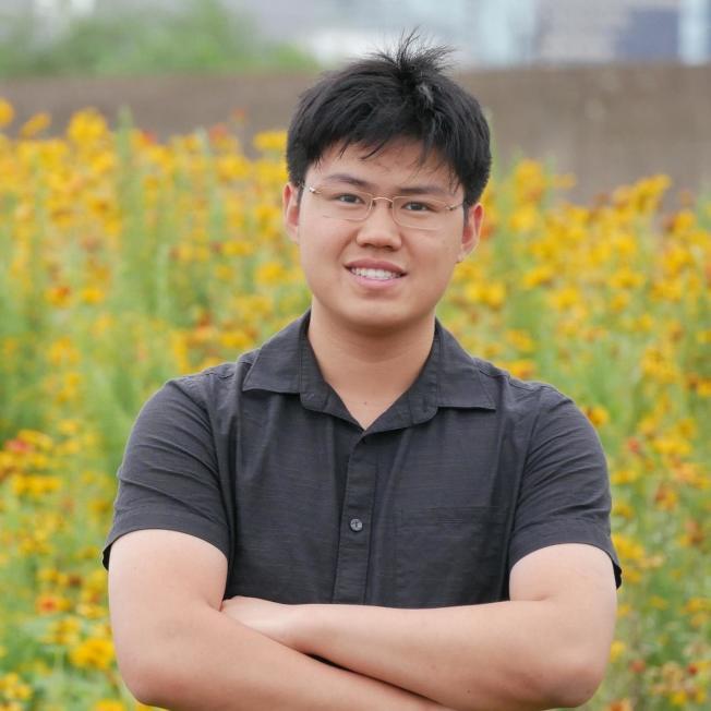 雷傑納隆科學獎學者劉大維。(學生提供)