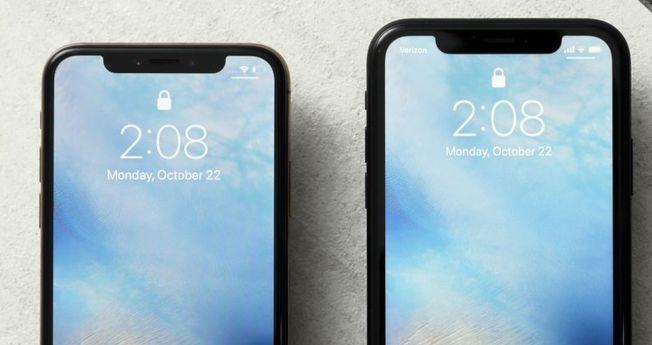 iPhone未來新款的「劉海」去或留,一直是外界關注焦點。由於蘋果供應商近日推出新款光感測元件,iPhone「劉海」傳出可能因此縮小或消失。(美聯社)
