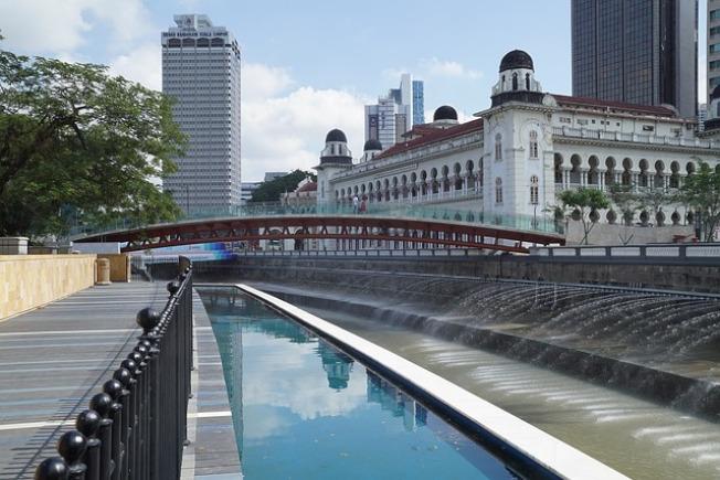 圖為位於吉隆坡的占美清真寺河岸的生命之河(River of Life)成功入圍。圖:pixabay