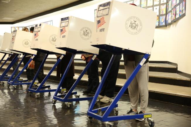 市選舉財務委員會報告指出,紐約州的選舉系統大大落後於全國。(記者洪群超/攝影)