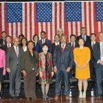 新國會亞裔黨團 20人宣誓就職