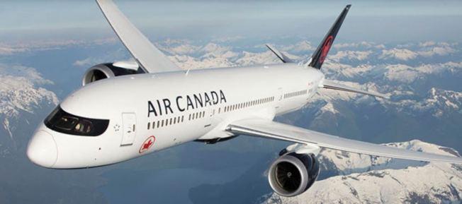 加拿大航空波音777-333ER客機上月抵香港時,粗猛著陸險釀事故。(取材自加航官網)