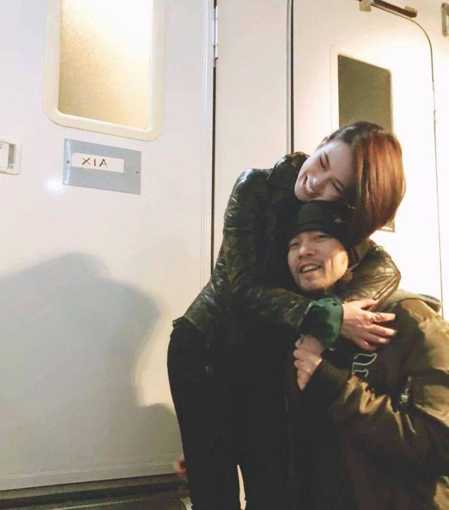 周傑倫(右)與昆凌平時就會秀恩愛。 (取材自Instagram)
