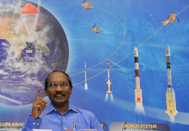 印度太空研究組織(ISRO)主席席萬(K. Sivan)。Getty Images