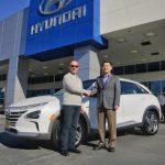 現代汽車售出首台NEXO氫燃料電池休旅車  環保尖兵 具備多項高科技功能