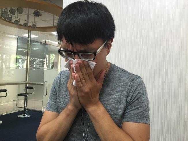 咳嗽。(本報資料照片)