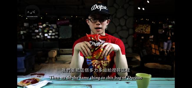 孫安佐公開監獄料理 圖/摘自youtube