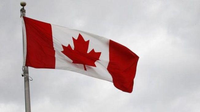 加拿大未來三年將引入逾百萬名新移民。圖為加拿大國旗。(路透)