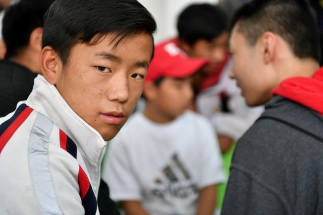 梁山彝族自治區的中學生。(中華愛滋病基會提供)