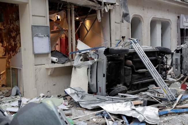 巴黎第9區一家麵包店於法國時間今早近9時發生嚴重爆炸。Getty Images