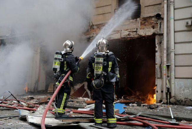這起爆炸已造成36人受傷,其中12人傷勢特別嚴重,包括3名消防員。Getty Images