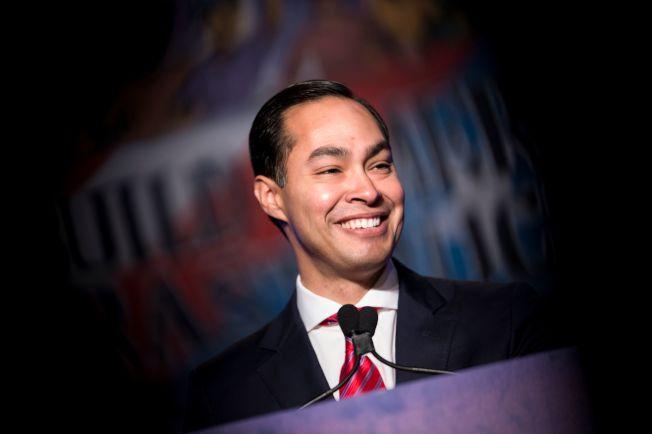 前德州聖安東尼奧市長卡斯楚(Julian Castro)12日宣布投入2020年總統大選。Getty Images
