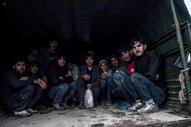 阿富汗移民經由希臘進入同為伊斯蘭國家的土耳其。(Getty Images)