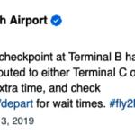 【聯邦停擺】布希國際機場 B航站安檢關閉