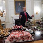 圖輯  白宮廚師放無薪假  川普叫這些外賣待客