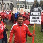 30年來破天荒  洛城3萬教師為薪罷工  50萬學生受影響