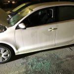 華人度假 車停偏僻停車場 被砸險被偷走