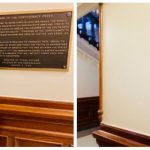 德州州議會爭議銅匾 拆了
