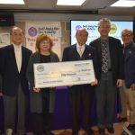 推廣健康營養餐 華美醫師協會 捐安老自助處5萬元