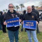 聯邦關門 NASA失業員工抗議