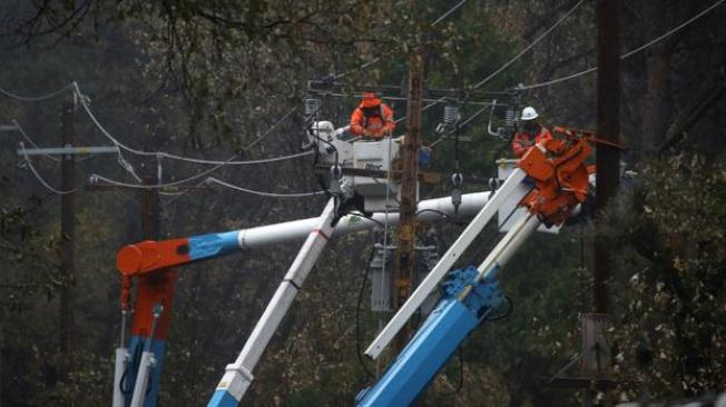 布特縣向太平洋瓦電提起山火賠償訴訟。(電視新聞截圖)
