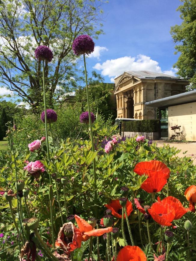 牛津藥草植物園。