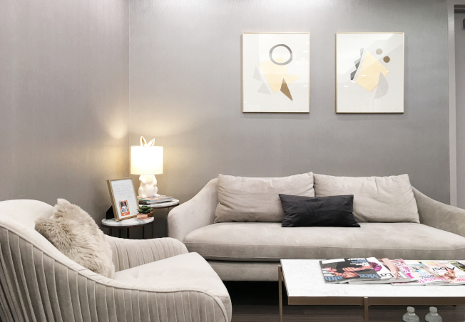 牆壁是空間中的最大面積,若想要改變空間氛圍,只要將牆壁重新油漆成不同顏色即可簡單達到改變的效果。(劉唯亭提供)