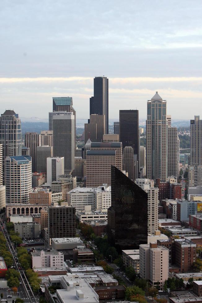微軟與亞馬遜等科技公司進駐,帶動西雅圖房價節節攀升。Getty Images