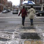新英格蘭本季第一場大雪 周末到來
