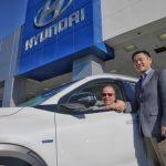現代 售出第一台氫燃料電池休旅車