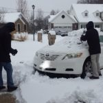 暴风雪来袭 芝加哥、圣路易白雪茫茫