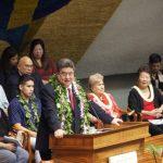 夏威夷參眾兩會新議員就職