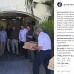 小布希自掏腰包買披薩 讓無薪上班的特勤飽餐一頓
