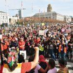 旧金山女性大游行 诉求女权