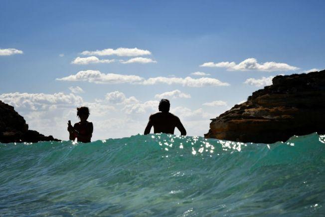義大利知名度假景點蘭佩杜薩島( Lampedusa)。(Getty Images)