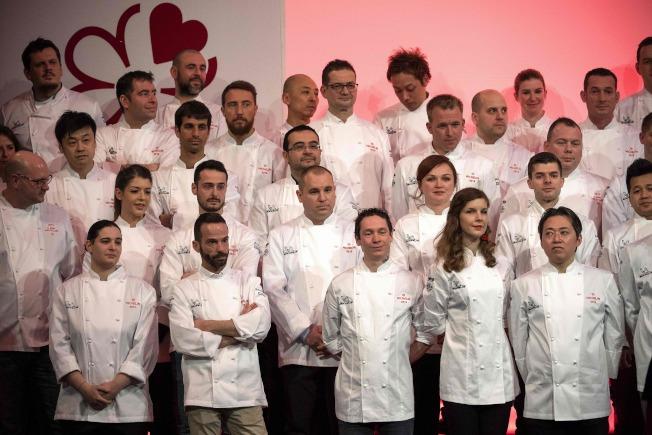 「米其林指南法国2019」今年选出史上最多的11间女主厨当家餐厅颁予星星殊荣。(Getty Images)